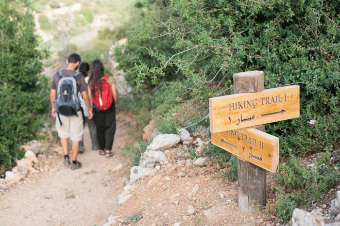 Hiking Trails in Battir Palestine