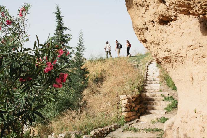 Hiking in Battir Palestine