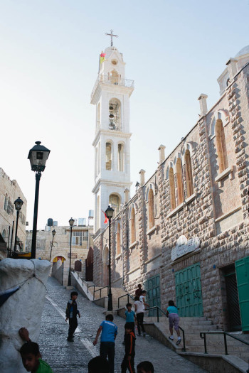 Historic Church in the Old City of Bethlehem