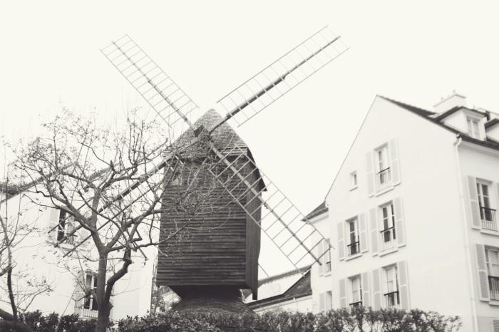 Moulin de la Gallette in Montmatre