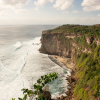 Overlooking the Uluwatu Temple in Bali