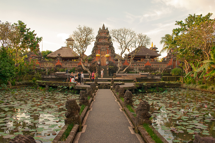 Pura Saraswati Temple in Ubud Bali