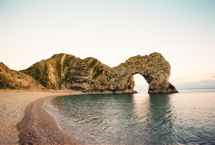Rock Formations in Durdle Door England