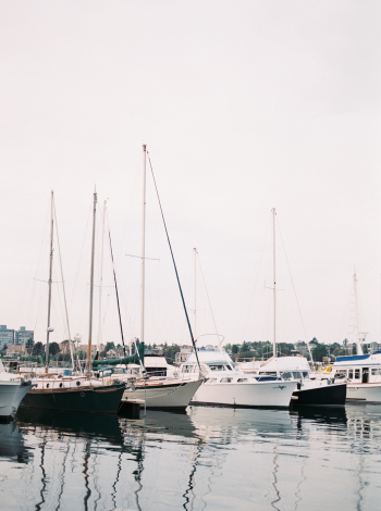 Sailboats in Victoria British Columbia