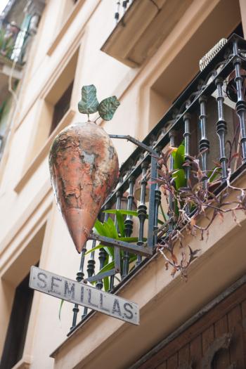 Seed Store in San Sebastian Spain