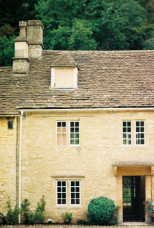 Stone Buildings of Castle Combe England