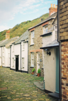 Stone Homes in Port Isaac England