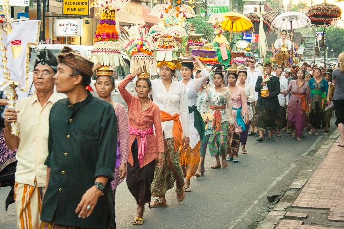 Street Parade in Ubud Bali
