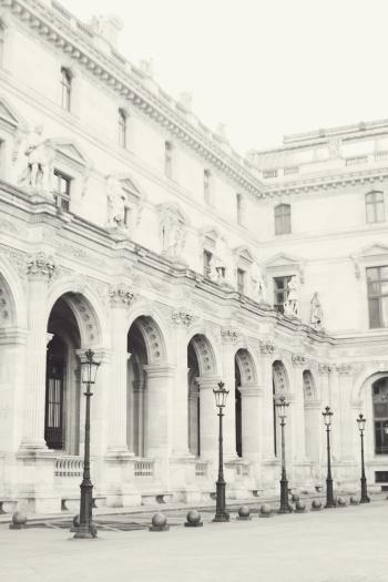 The Louvre in Paris France