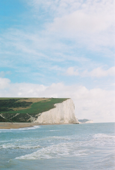 The Seven Sisters Cliffs of England