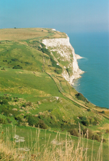 The White Cliffs of Dover England