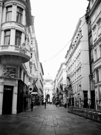 Walking the Streets of Vienna Austria
