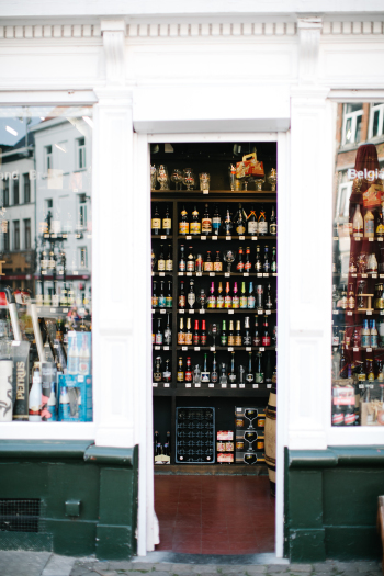 Wine Store in Antwerp Belgium
