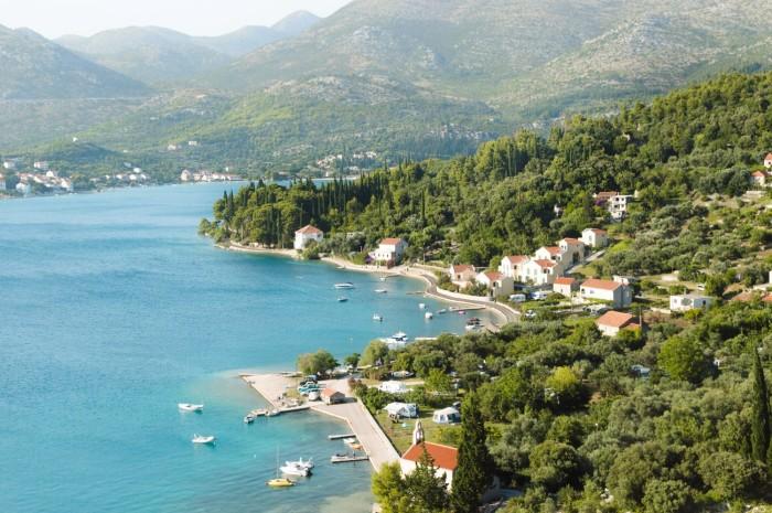 Green Landscape of Dubrovnik Croatia