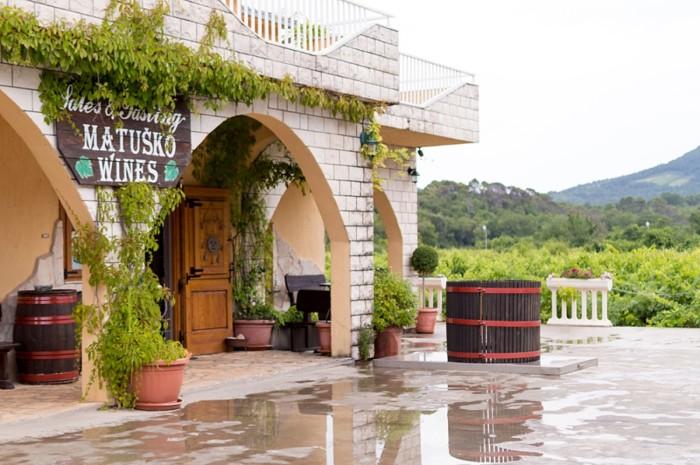 Matusko Wines in Dubrovnik Croatia