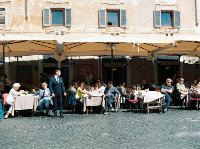 Outdoor Cafe in Rome Italy