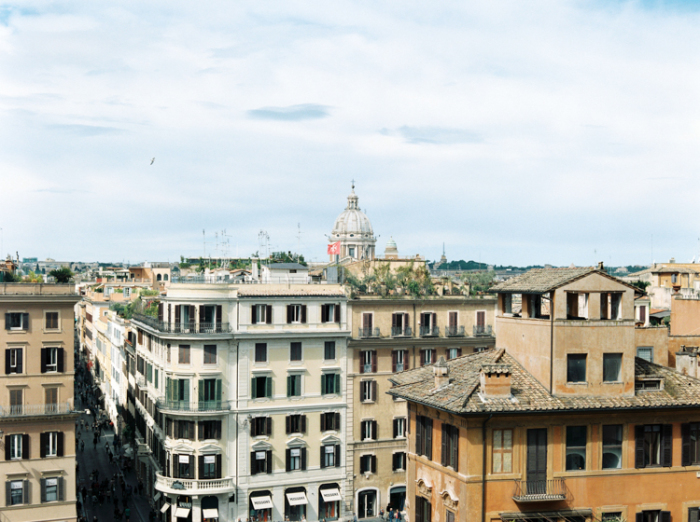 Rooftops of Rome Italy