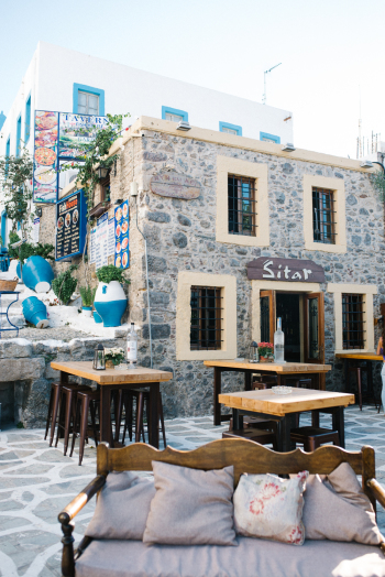 Sitar Cafe in Kos Island Greece