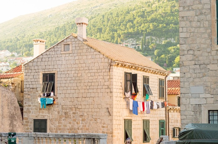 Stone Home in Dubrovnik Croatia