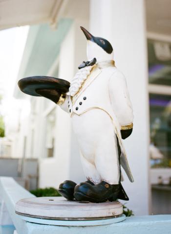 Art Deco Penguin