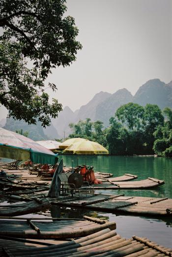 Bamboo Rafts Yangshuo