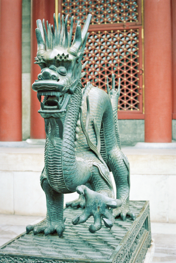 Dragon Statue in Beijing