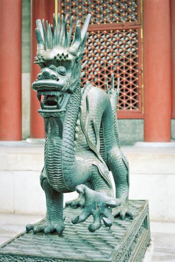 Dragon Statue in Beijing