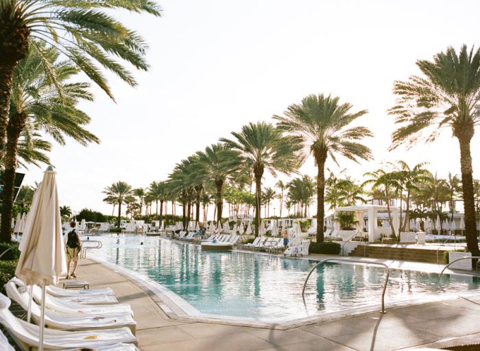 Fontainebleau Poolside Miami