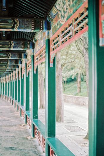 Long Corridor at Summer Palace Beijing