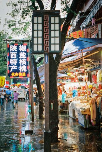 Muslim Quarter in Xian