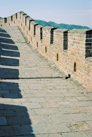 Path on Great Wall of China